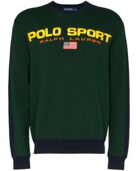 Polo Ralph Lauren ロゴ スウェットシャツ - グリーン