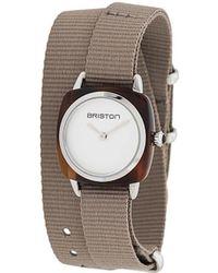 Briston Clubmaster Horloge - Grijs