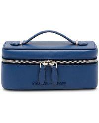 Prada Small Travel Pouch - Blue