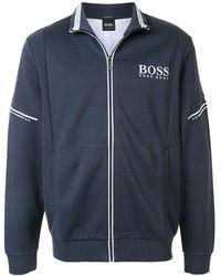 BOSS by Hugo Boss - ジップアップ スウェットシャツ - Lyst