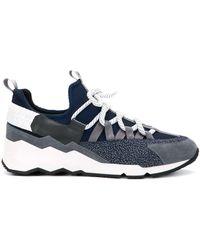 Pierre Hardy Trek Comet Sneakers - Grey
