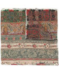 Pierre Louis Mascia Pancake Floral-print Wool Scarf - Multicolor