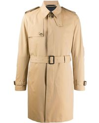Paul Smith Belted Trench Coat - Natural