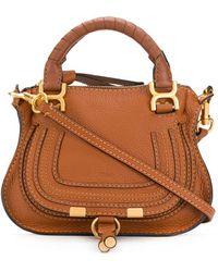 Chloé - Mini Marcie Tote Bag - Lyst