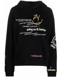 Zadig & Voltaire Happy Long-sleeved Hoodie - Black