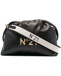 N°21 Сумка Eva С Логотипом - Черный