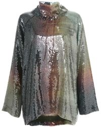 By. Bonnie Young - Sequinned Oversized Sweater - Lyst