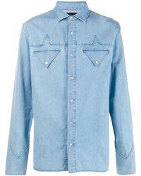 Mr & Mrs Italy Camisa abotonada - Azul