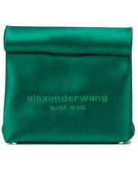 Alexander Wang Сумка-пакет С Логотипом - Зеленый