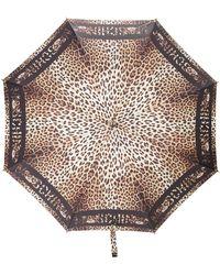 Moschino - Leopard Print Umbrella - Lyst
