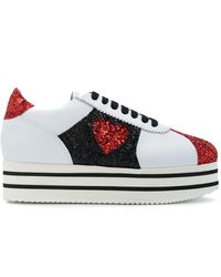 Chiara Ferragni 'Chiara Suite' Flatform-Sneakers - Weiß