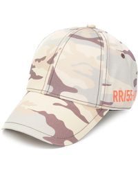 DIESEL Camouflage-print Cotton Cap - Multicolor