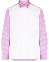 Comme des Garçons - Camisa con panel - Lyst