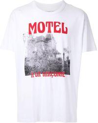 À La Garçonne + Hering Psycho Tシャツ - ホワイト