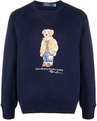 Polo Ralph Lauren - Polo Bear スウェットシャツ - Lyst