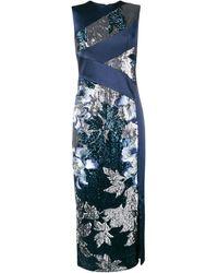 Three Floor Glitterati Dress - Blauw