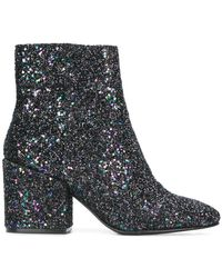 Ash - Booties With Glitter - Lyst