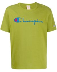 Champion - ロゴ Tシャツ - Lyst