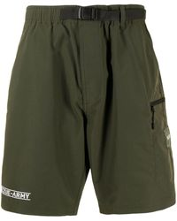 Izzue Army Belted Shorts - Green