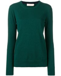 Tory Burch - Round Neck Jumper - Lyst
