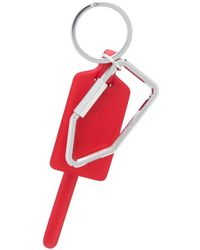 Off-White c/o Virgil Abloh Zip Tie Keyring - Red