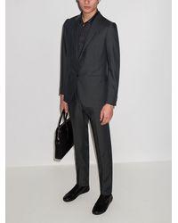 Ermenegildo Zegna Achillfarm ツーピース スーツ - ブラック