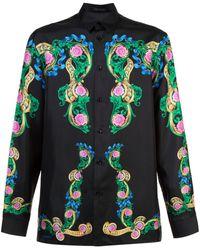 Versace - フローラルシャツ - Lyst