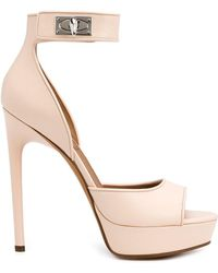 Givenchy - 'shark Lock' Sandals - Lyst