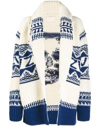 Zadig & Voltaire Skull Knit Cardigan - White