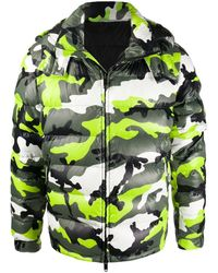 Valentino Donsjack Met Camouflageprint - Groen