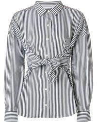 FRAME Camisa de popelina - Negro