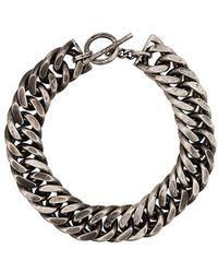 Ann Demeulemeester - Chain Choker - Lyst