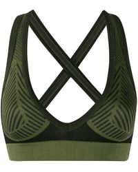Unravel Project Move seamless sports bra - Verde