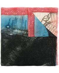 Faliero Sarti - Williamsburg Printed Scarf - Lyst