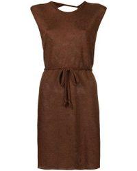 Kacey Devlin - Collapsed Back Mini Dress - Lyst