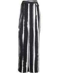 Equipment Pantalones anchos Saganne - Negro