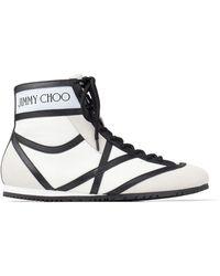 Jimmy Choo Высокие Кеды Kato - Белый