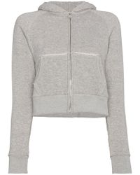 Simon Miller - Cropped Zip Up Hoody - Lyst
