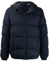 Colmar Hooded Down Jacket - Blue