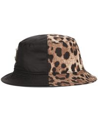 Dolce & Gabbana - Панама С Леопардовым Принтом - Lyst