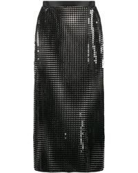 Christopher Kane チェーンメイル スカート - ブラック