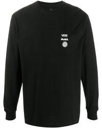 Vans ロゴ スウェットシャツ - ブラック