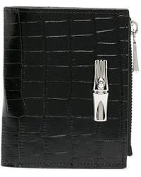 Longchamp Roseau 財布 - ブラック