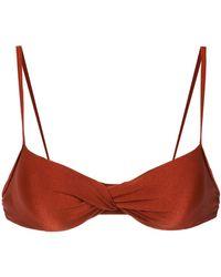Lygia & Nanny Top bikini Cassis - Rosso
