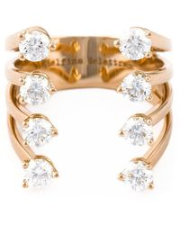Delfina Delettrez Diamant Dots Ring - Metallic
