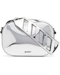 Off-White c/o Virgil Abloh - Metallic Leather Belt Bag - Lyst