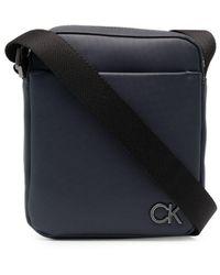 Calvin Klein Маленькая Сумка Через Плечо - Синий