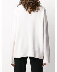 Le Kasha カシミア タートルネックセーター - ホワイト