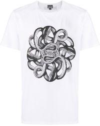 Just Cavalli - プリント Tシャツ - Lyst