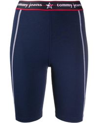 Tommy Hilfiger Summer Heritage Cycling Shorts - Blue